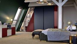 Modernes Dachschrägenschrank nach Maß mit Sideboard von CABINET