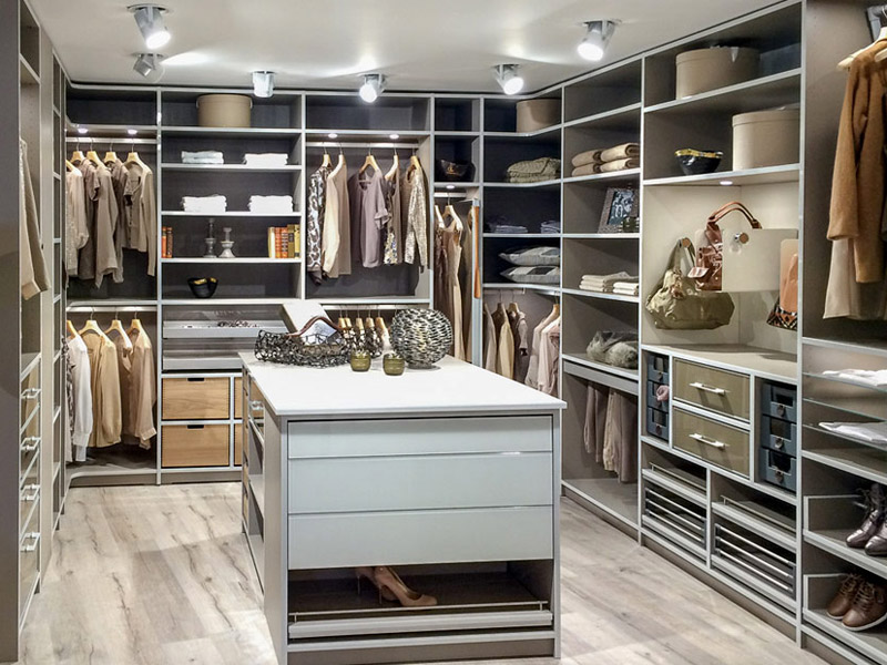 Begehbarer Kleiderschrank Terra mit Innensystem Interior von Cabinet