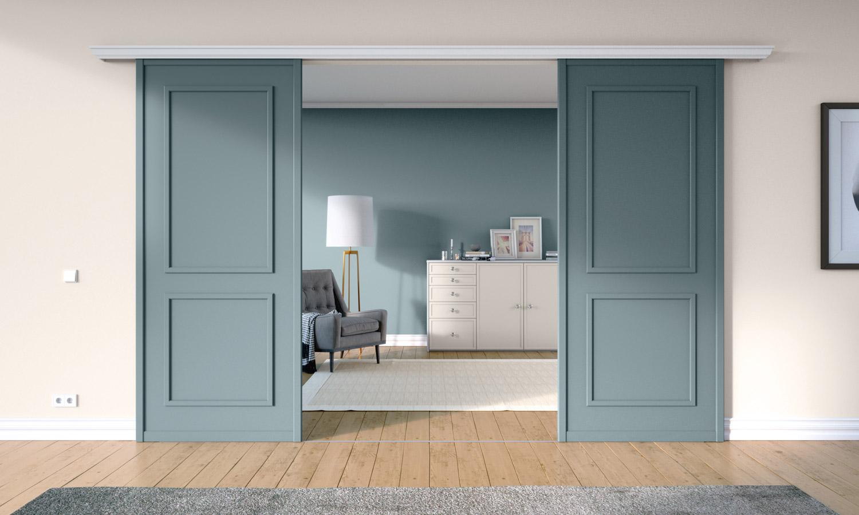 Raumteiler nach Maß in Farbe nach Wunsch von CABINET
