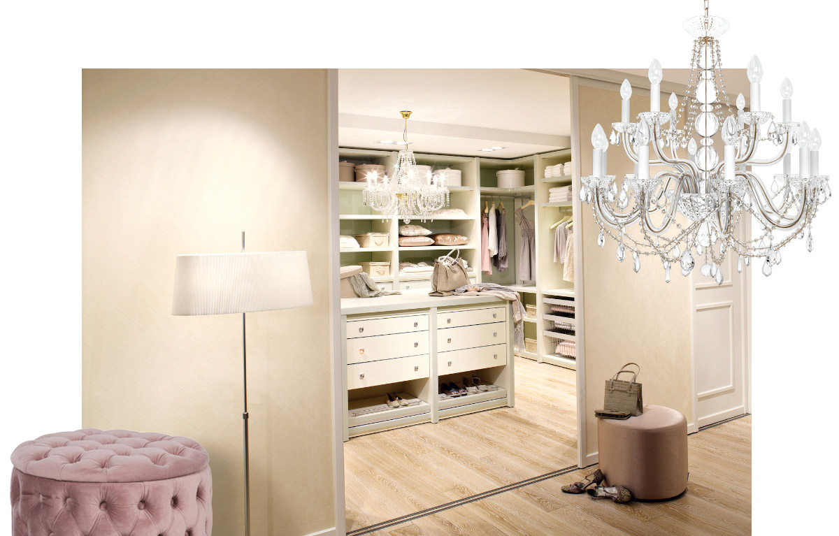 Stil Inspiration Romantic Cabinet Schranksysteme In Bielefeld